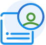 Expert Icon. File highlighting a specific user profile